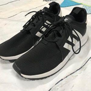 Nike Men's Size 8.5 Tennis Shoe Black And White